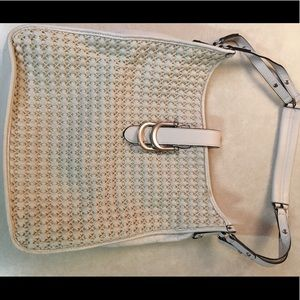 Sam Edelman Cream Shoulder Bag